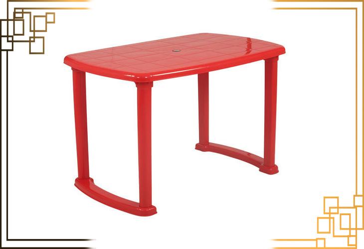 میز پلاستیکی مستطیلی