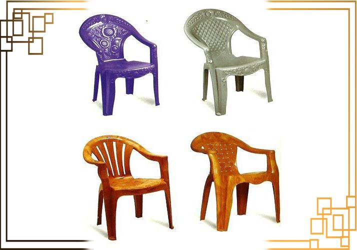 صندلی پلاستیکی سفید