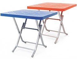 میز پلاستیکی طرح حصیری