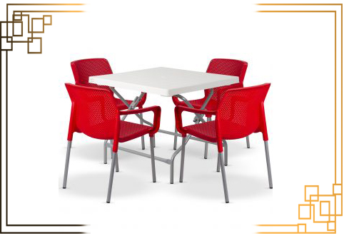 میز پلاستیکی رستورانی
