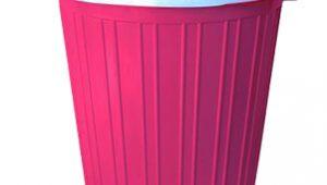 سطل زباله پلاستیکی ساده