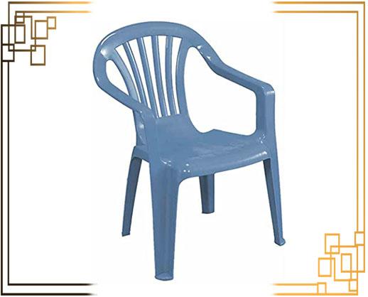 صندلی پلاستیکی پایه فلزی